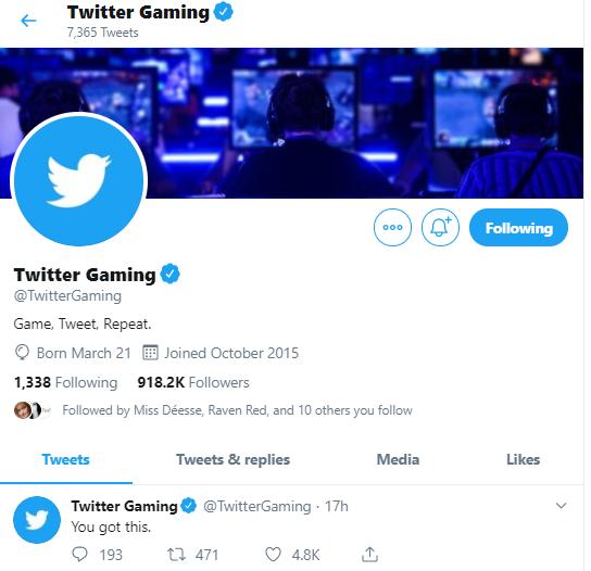 gaming social media