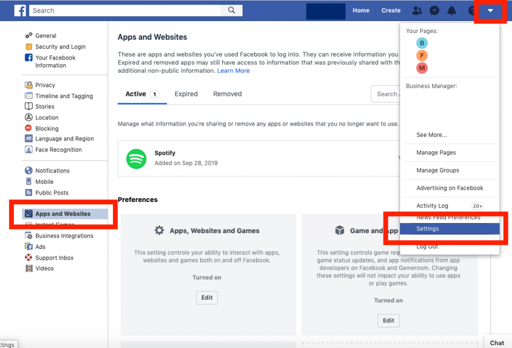 how to find facebook id