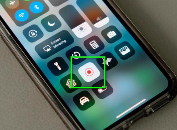 TikTok screenshot notification